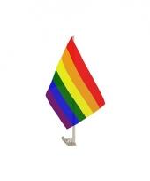 Autovlaggen regenboog