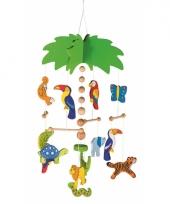 Babykamer mobiel jungle dieren