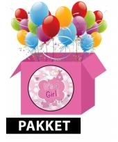 Babyshower feestpakket meisje