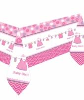 Babyshower tafelkleed meisje