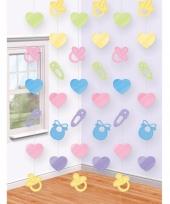 Babyshower versiering deurgordijn