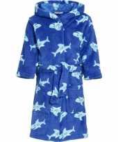 Badjas haai blauw voor kinderen