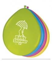 Ballonnen babyshower thema