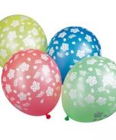 Ballonnen gekleurde met bloemen