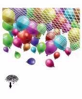 Ballonnen net gat aan onderkant voor 500 stuks
