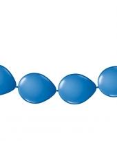 Ballonnen om slingers van te maken blauw