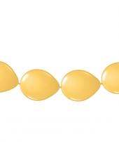 Ballonnen om slingers van te maken goud