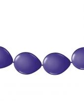 Ballonnen om slingers van te maken paars
