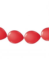 Ballonnen om slingers van te maken rood
