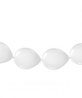Ballonnen om slingers van te maken wit