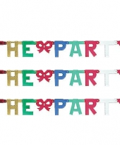 Banner letter p mettalic