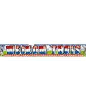 Banner welkom thuis 5 meter
