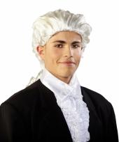 Barok witte pruik heren