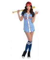 Baseball kostuum voor dames