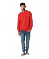Basic heren sweatshirt