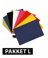 Basis kleurtjes a4 karton 36x