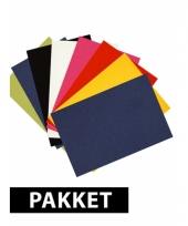 Basis kleurtjes a4 karton 8x