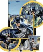 Batman hip hooray themafeest tafelversiering pakket 8 personen