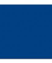 Bbq servetten donkerblauwe kleur 25 stuks