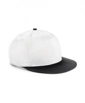 Beechfield baseballcap wit