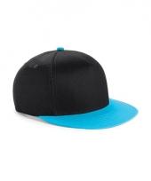Beechfield baseballcap zwart