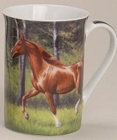 Beker met paard model 4
