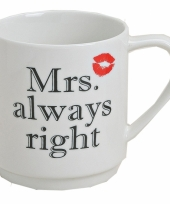 Beker mrs always right