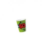 Bekers 50 jaar groen 10x