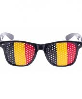 Belgie vlag zonnebril