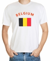 Belgische vlaggen t-shirts