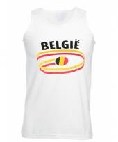 Belgische vlaggen tanktop voor heren