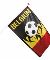 Belgische voetbal vlaggen