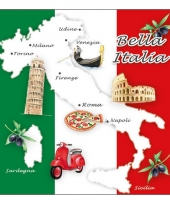 Bella italia servetten 20x
