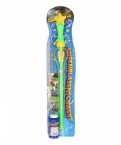 Bellenblaas zwaarden groen 53 cm