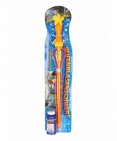 Bellenblaas zwaarden oranje 53 cm