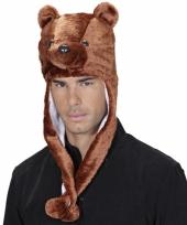 Beren feestmuts voor volwassenen