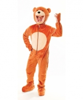 Beren kostuum lichtbruin