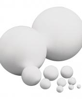 Beschilderbare bal van piepschuim 25 cm