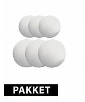 Beschilderbare bal van piepschuim 5 en 10 cm