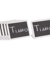 Beschrijfbare naambordjes 13 5 cm