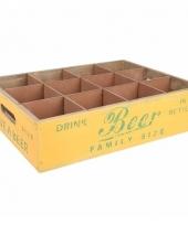 Bier dienbladen voor 12 biertjes
