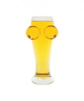 Bier en tieten bierglas