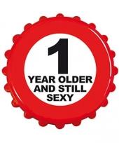 Bierdop opener 1 jaar ouder