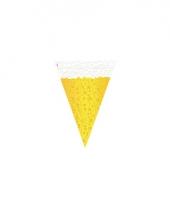Biertje vlaggenlijn zes meter van plastic