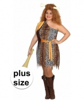 Big size grotbewoner verkleedkostuum voor dames