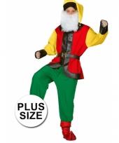 Big size kabouter kostuum