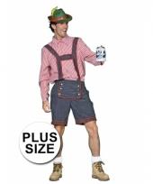 Big size lederhose voor mannen