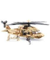 Black hawk helikopter bouw blokjes