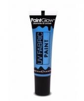 Blacklight kledingverf blauw