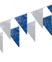 Blauw witte slinger